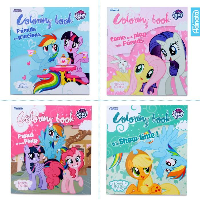 Jual My Little Pony Coloring Book S Adinata Buku Mewarnai Buku