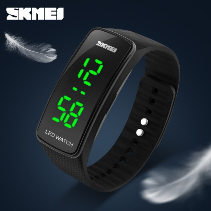 SKMEI 100% Original Jam Tangan Couple LED 1119