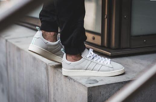 Jual Sepatu Adidas Campus Vintage White Original Sepatu Pria