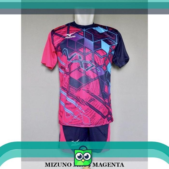Jual Baju Kaos Olahraga Seragam Volley Setelan Voli Mizuno MZ09 ... 522a333705