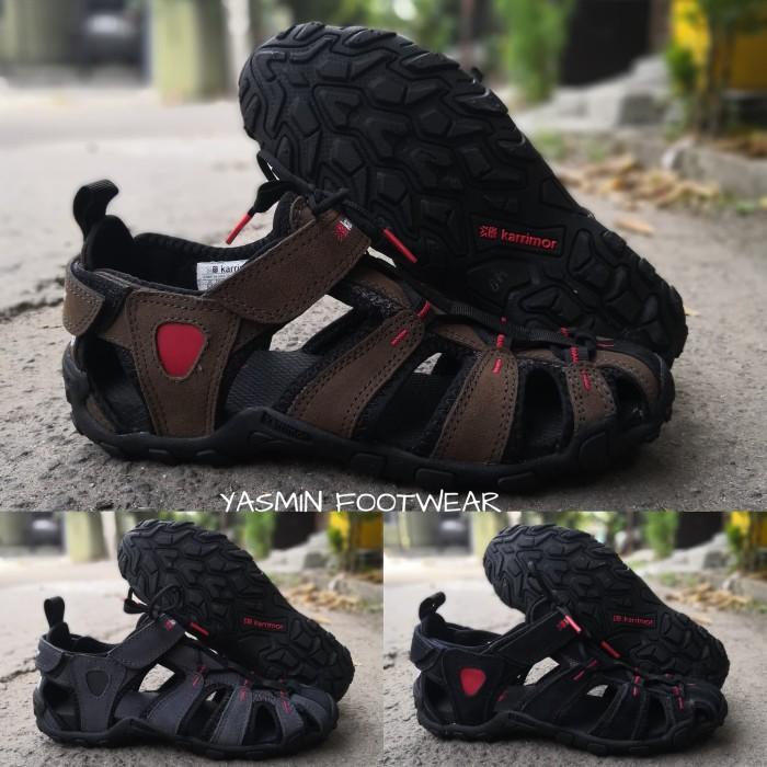 Foto Produk Sendal Gunung Karrimor Sandal Hiking Sandal Outdoor Karimor - Hitam, 39 dari Yasmin Footwear