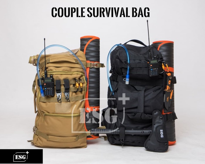 Goede Jual ESG+ COUPLE Survival Bag|Tas Darurat Bencana Alam|Emergency XM-05
