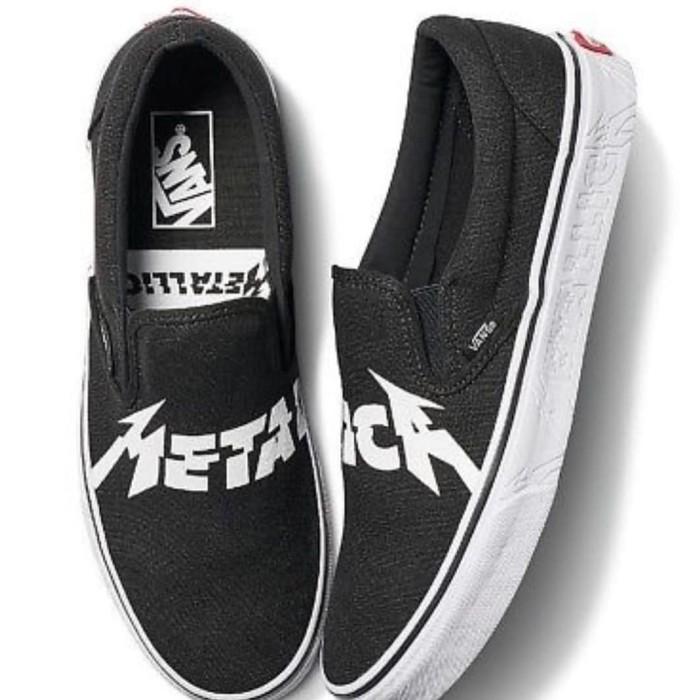 Jual Vans x Metallica Slip On - Kota