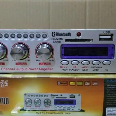 Jual Amplifier Power Ampli Mini BRAVO-700 V4BT bluetooth Usb - Jakarta  Barat - Maestro audio&sport | Tokopedia
