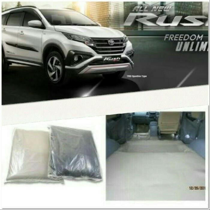 karpet dasar mobil all new rush / terios