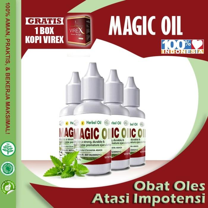 Magic Oil - Obat Herbal Oles Mengatasi Impotensi Pria Terbaru ASLI