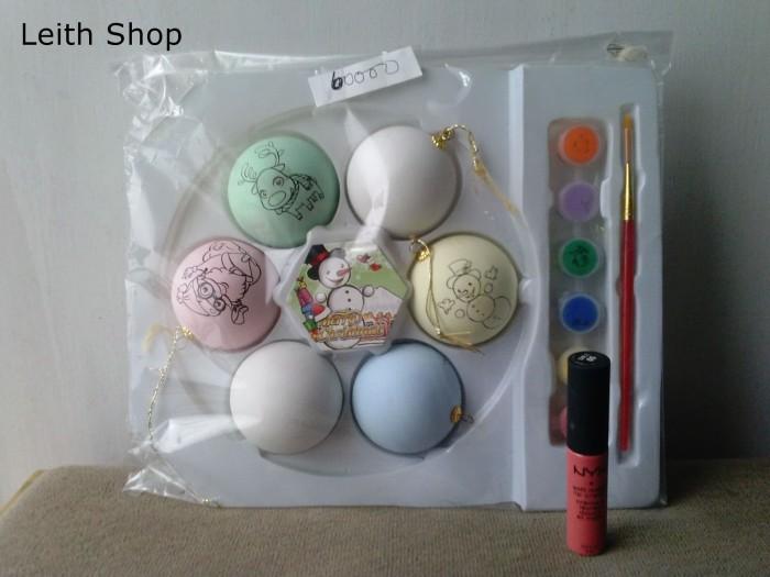 Jual Mainan Edukasi Mewarnai Telur Natal Easter Egg Warna Paskah
