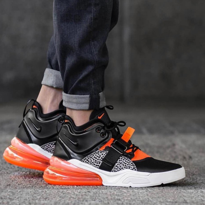 new arrival 13595 f86e6 Jual Sepatu Nike Air Force 270 Pack 'Black Orange' - Marlo Shoes | Tokopedia