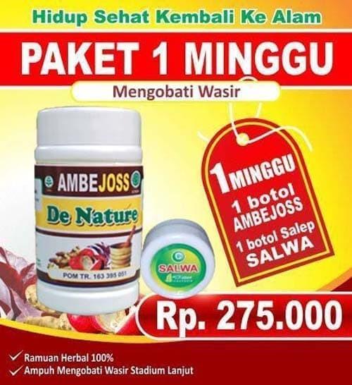 Foto Produk hemmorhoida obat wasir ambeien terjamin herbal dari Nurul De Nature