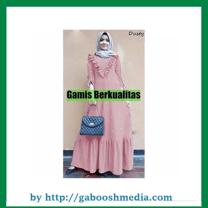 Jual Baju Gamis Wanita - MAXI DRESS MUTIARA PARAMITHA - Dress Pesta ... 1e1aa24fd9