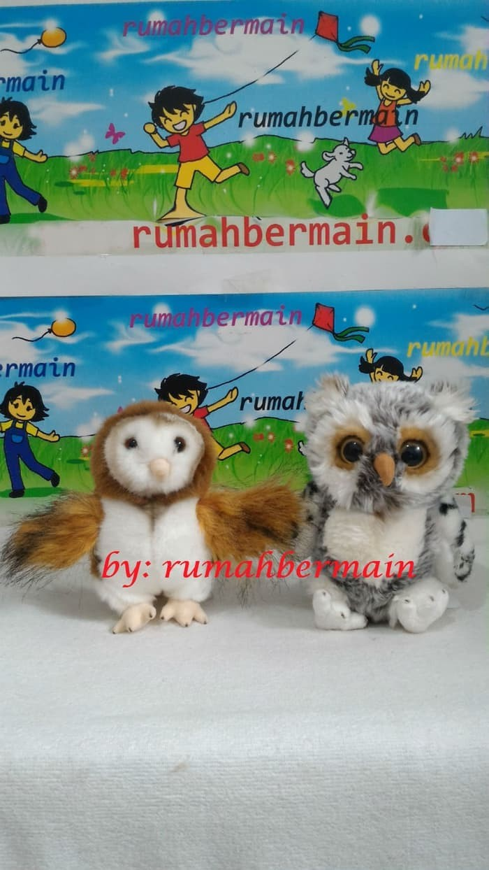Jual Boneka Boneka Binatang Burung Hantu 20cm Animal Owl Mainan Kota Denpasar BARBARALONG
