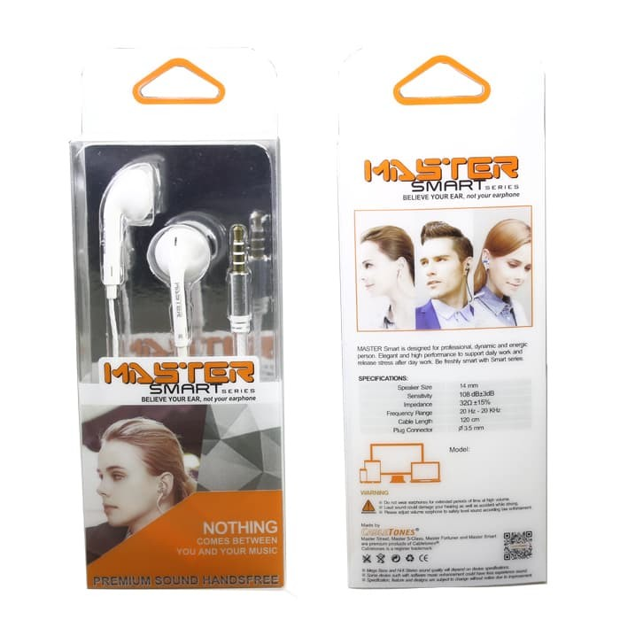 Earphone MASTER SMART