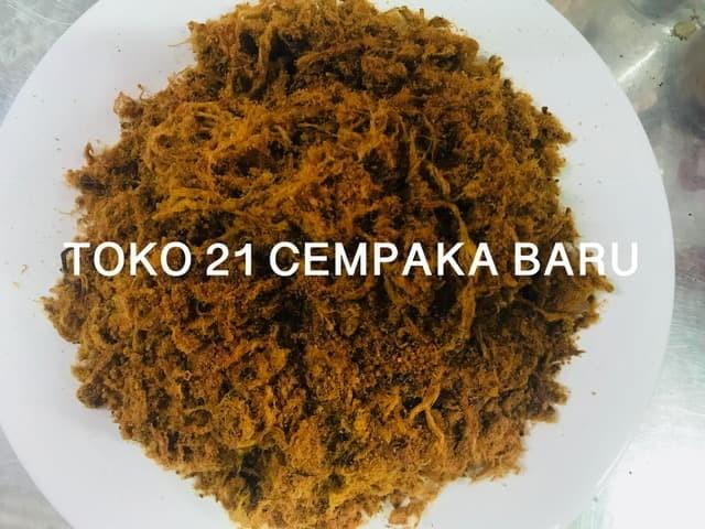Foto Produk Abon Daging Sapi Asli Rasa MANIS 1 KG | Abon Sapi 1KG 1000g 1000 gr dari Toko 21 Cempaka Baru