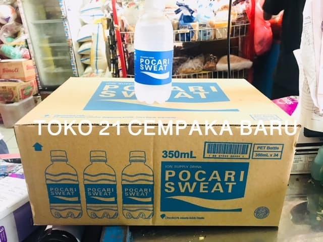 harga Pocari sweat botol 350ml 1 karton isi 24 pcs |minuman ion murah 350 ml Tokopedia.com