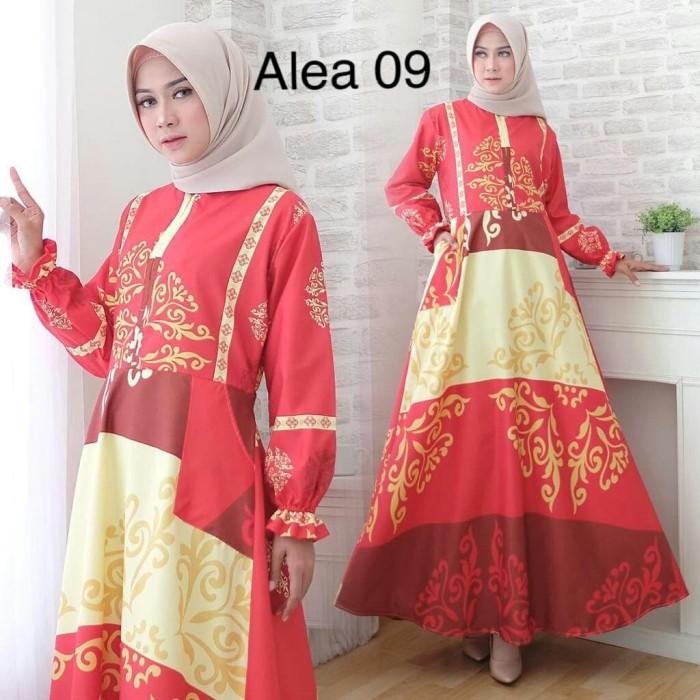 Jual Maxi Alea 09real Pic Maxi Busui Gamis Model Payung
