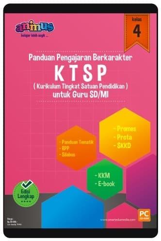Foto Produk CD RPP KTSP KELAS 4 SD/MI dari SMART EDUMEDIA
