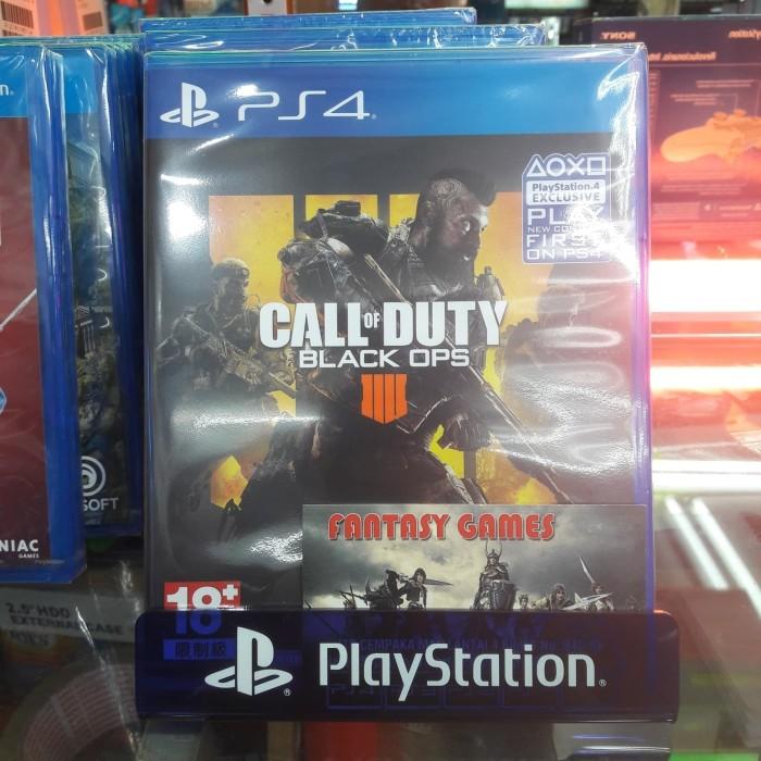 Jual Kaset Ps4 Call Of Duty Black Ops 4 Internet Required Jakarta Pusat Fantasy Games Tokopedia