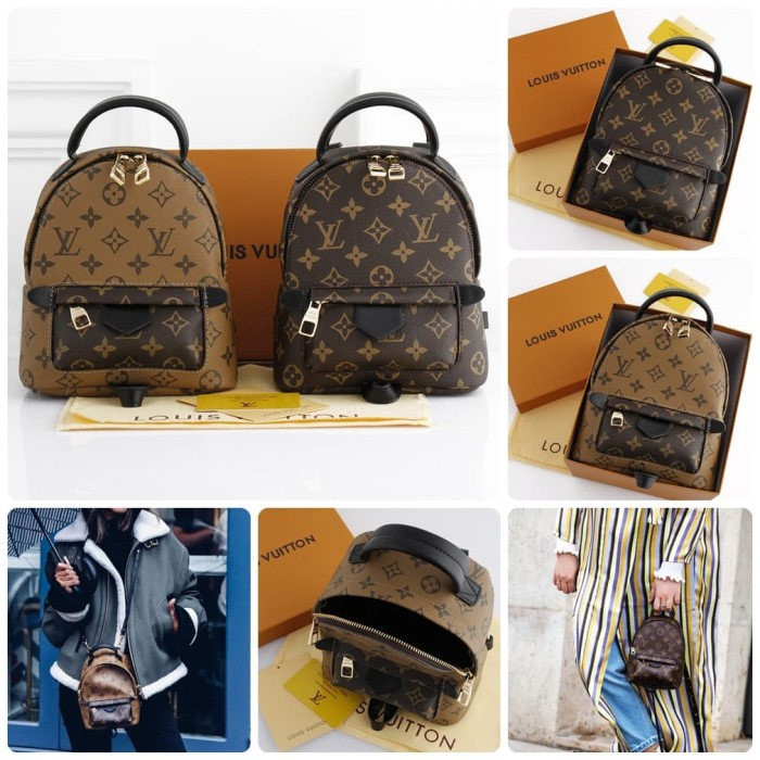 bcdfeda7c973 Jual Louis Vuitton Palm Spring Mini BackPack Include Box LV Leather ...