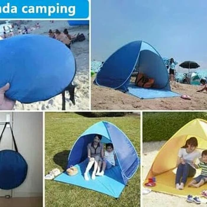 Foto Produk Tenda camping buka otomatis tenda beach shade tenda anak dari evencio shop