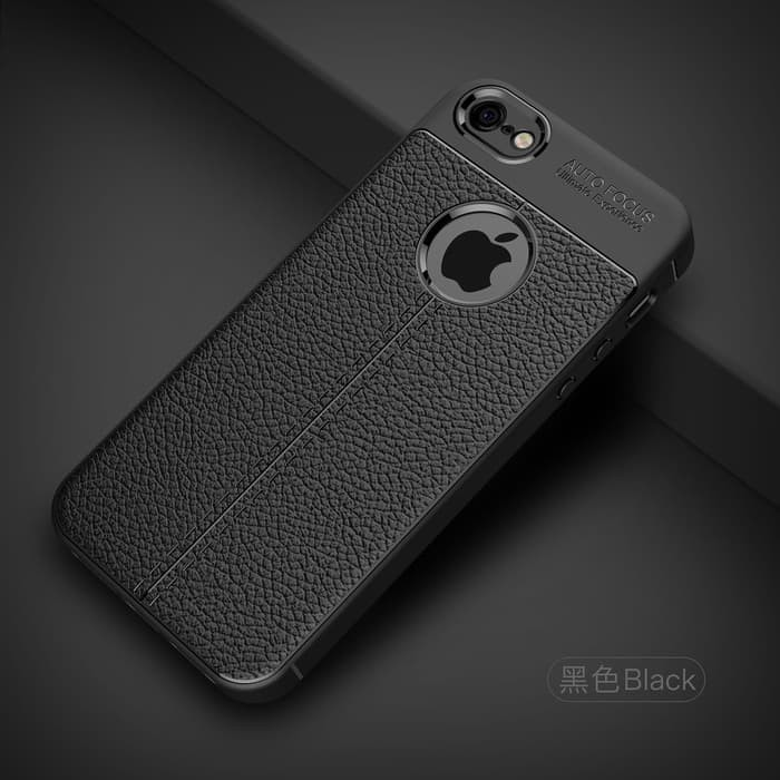 Softcase TPU Leather Auto Focus Cover Case Casing HP iPhone 5 5s 5G