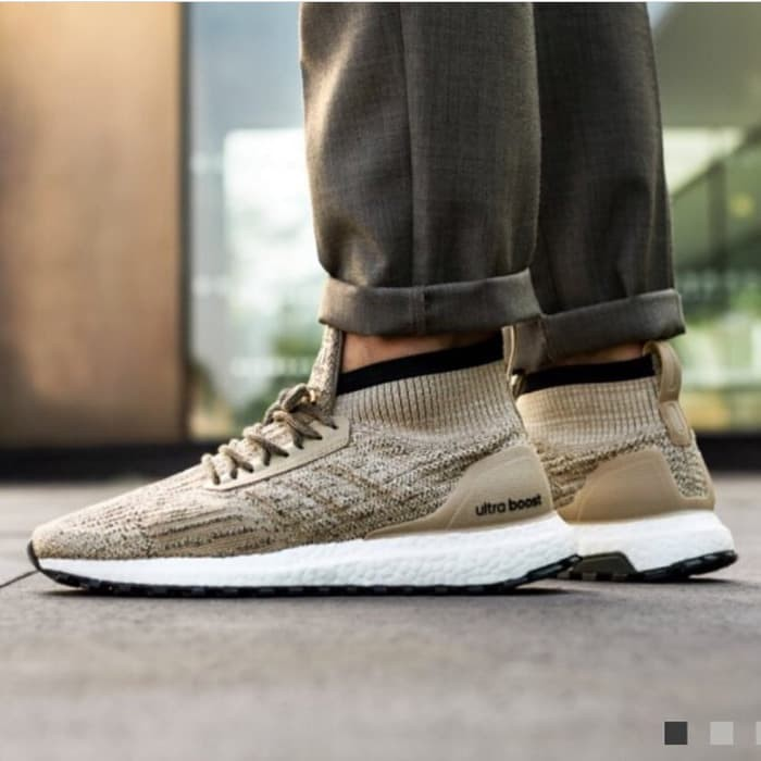 556aaec7b6c66 Jual Sepatu adidas ultra boost mid atr tracee khaki premium original ...