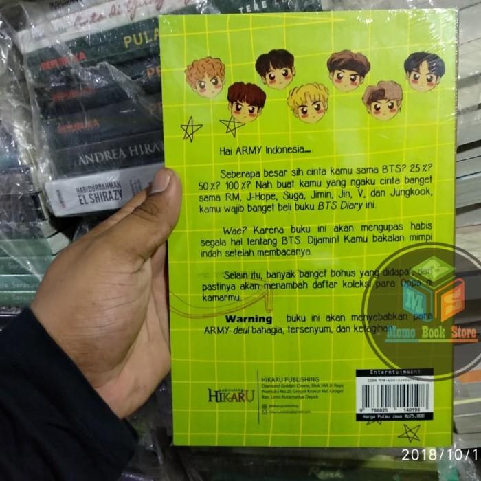 Jual Buku Novel Bts Diary @BTSINDONESIAARMY_ - Jakarta Pusat - Momo Book  Store | Tokopedia