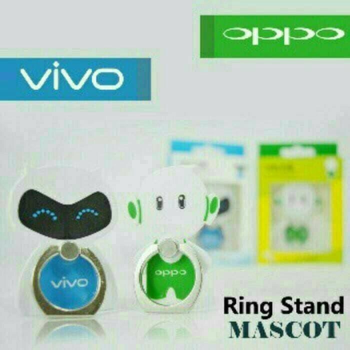 Unik Ring Stand HP / I Ring HP Maskot Oppo dan Vivo Berkualitas
