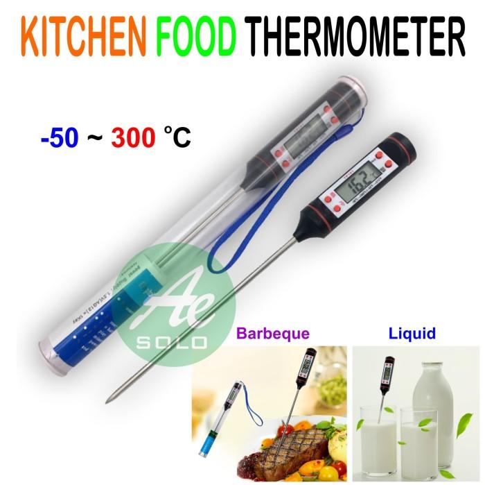 harga Termometer makanan  air masakan - dapur / digital food thermometer Tokopedia.com