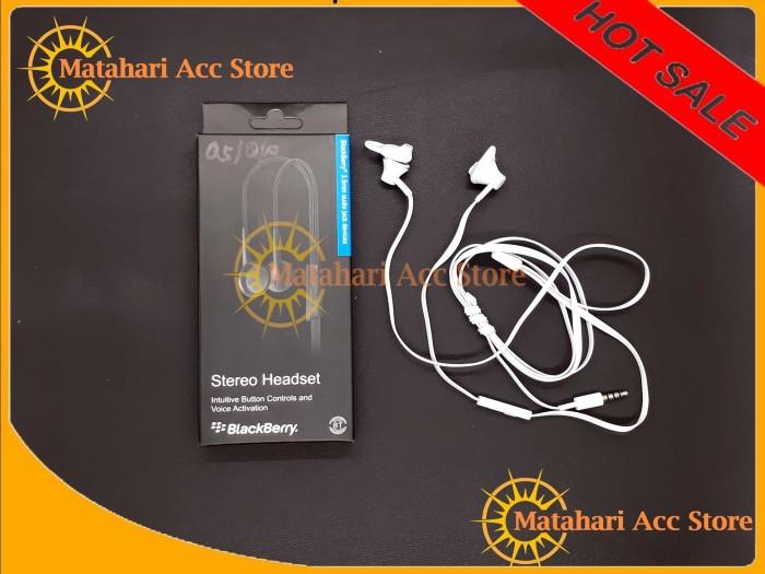HEADSET/ HANDSFREE BLACKBERRY BB Q10 / Q5 ORIGINAL 99%
