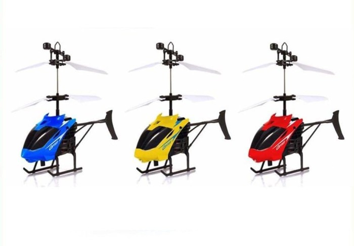 Helikopter Mainan Terbang - Adhesi