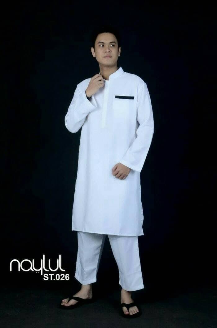 88 Contoh Baju Muslim Laki Laki Panjang Terbaik