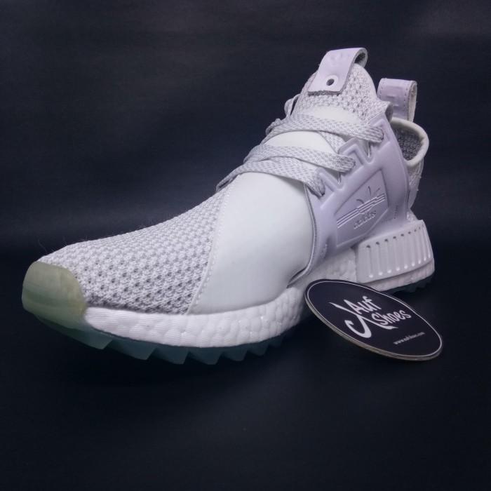 a9eb6fd6d23d3 Jual Adidas Consortium Nmd Xr1 Tr Titolo - triple white BY3055 ...