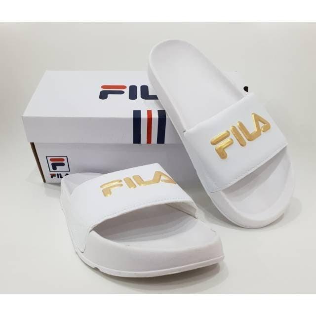 Jual Sandal Fila Slop Premium BNIB   Sandal Cewek Murah   Sandal ... 2e401775ce