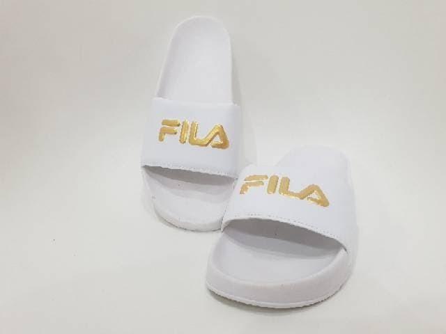 Jual Sandal Fila Slop Premium BNIB   Sandal Cewek Murah   Sandal ... 85cf21c939