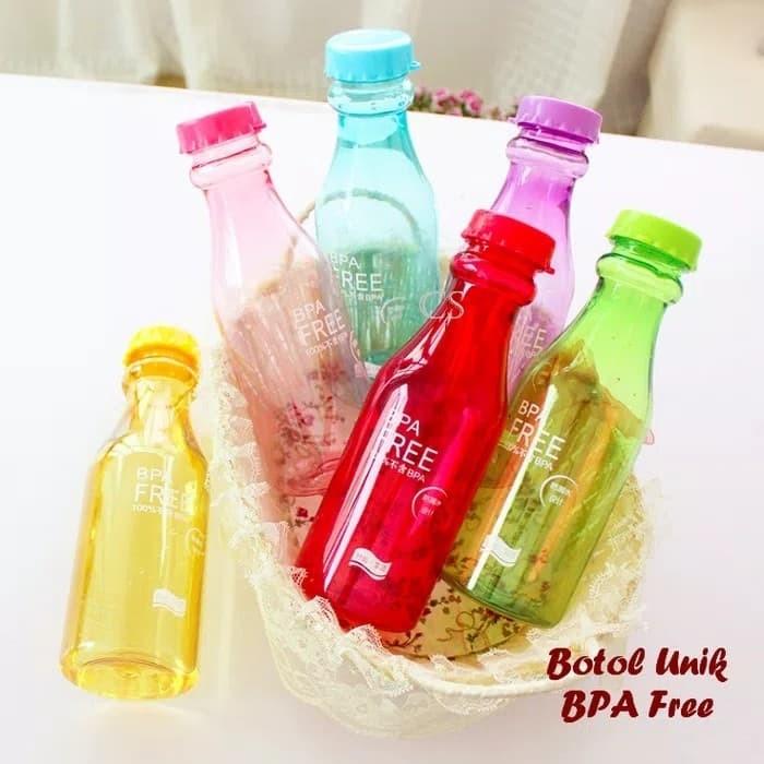 75b78c8ce10f Jual Botol Minum Bentuk Botol Soda BPA FREE Botol Minum BPA FREE - Kab.  Sidoarjo - Dhara emart   Tokopedia