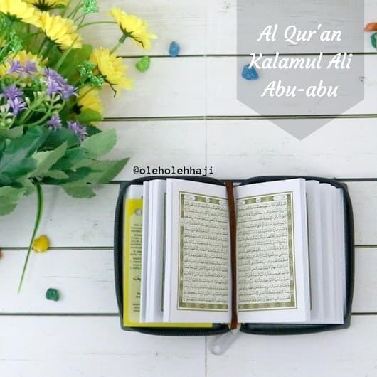 Al Quran Saku Kalamul Ali/Al Quran Saku Resleting/Al Quran Mini
