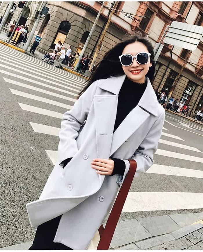 67 Gaya Baju Cardigan Model Korea Terbaru