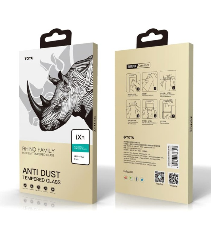 harga Iphone xs max 6.5 tempered glass frame totu anti dust hd Tokopedia.com