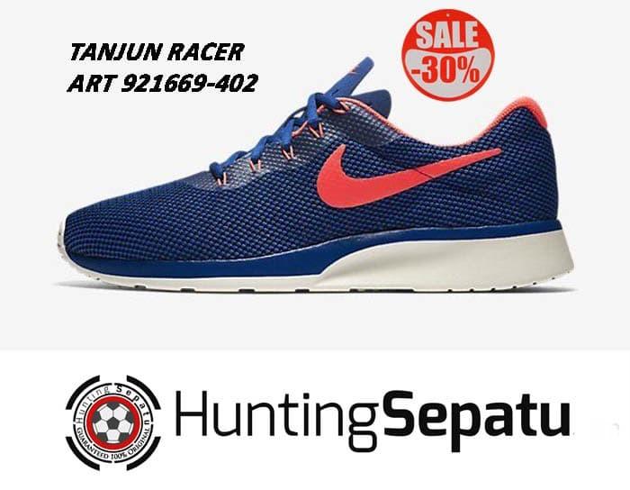 Jual Sepatu Running Lari Nike Tanjun Racer Gym Blue Original 921669 ... 7ccb1d29d