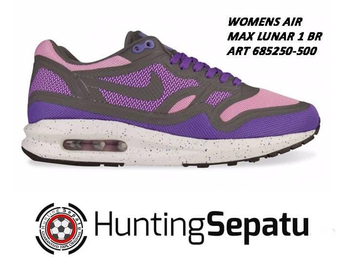 Jual Sepatu Running Lari Womens NIke Air Max Lunar 1 BR Original 685250 500 DKI Jakarta Hunting Sepatu | Tokopedia
