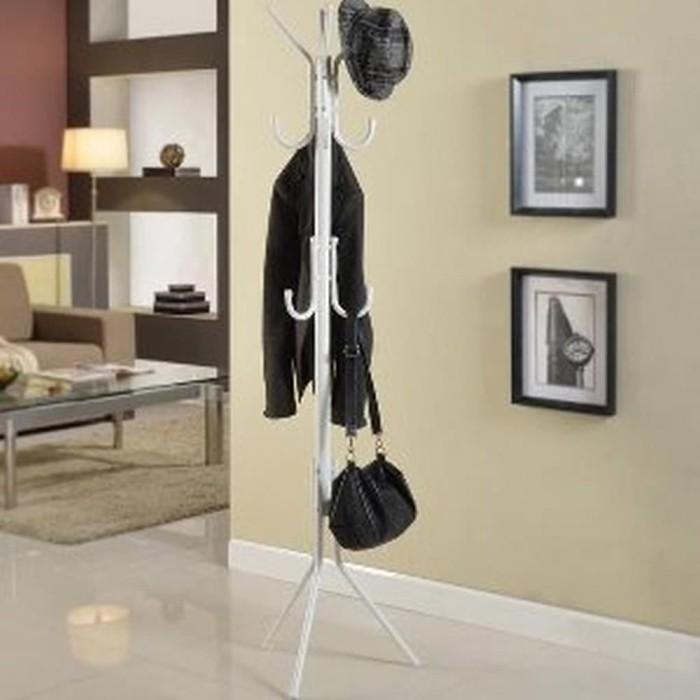 Terlaris Gantungan Multifungsi Tas Standing Hanger Baju pasti mur