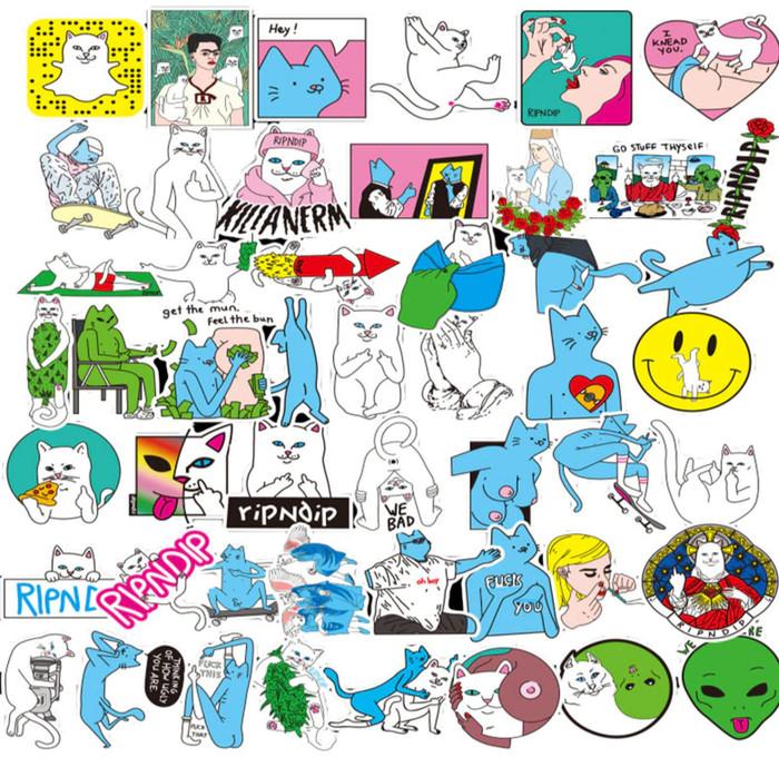 Jual Sticker Stiker Laptop Hp Aksesoris Keren Distro Hip Hop Logo Rip N Dip Jakarta Selatan Art Stuffs Tokopedia