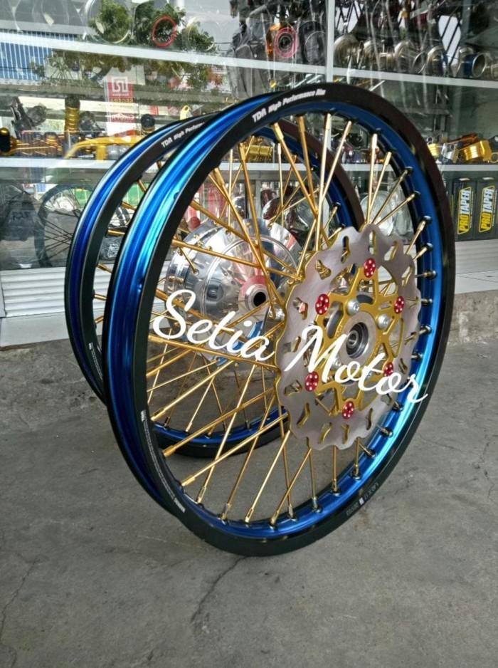 Jual Beli Velg Tdr Sepaket Motor Matic Ring 17 Mio Beat Vario 125 150