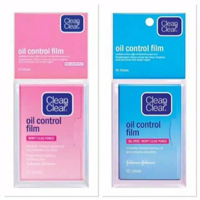 harga Clean and clear oil control film Tokopedia.com