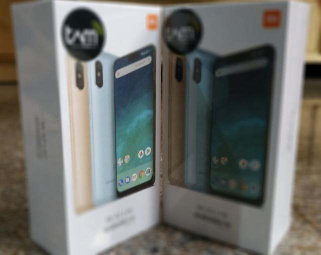 Handphone Xiaomi Mi A2 Lite 3 32 Gold Blue Harga Rp 2 385 000