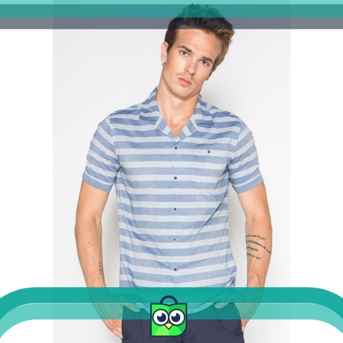 Short Sleeve Shirt Blue 02