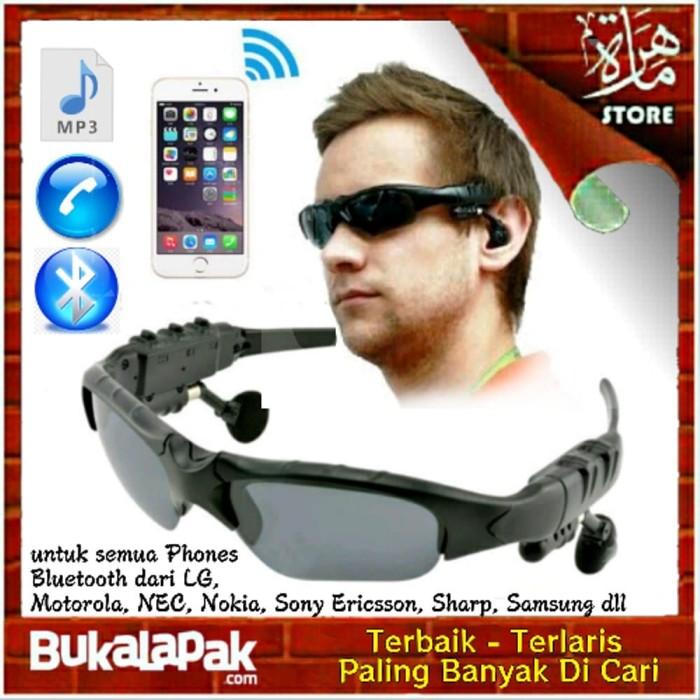 Kacamata Canggih Sporty Multifungsi Mp3 bluetooth Telp Berkualitas