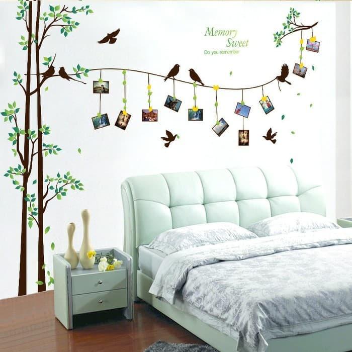 jual terbaru termurah wall sticker / stiker dinding kamar mandi bird
