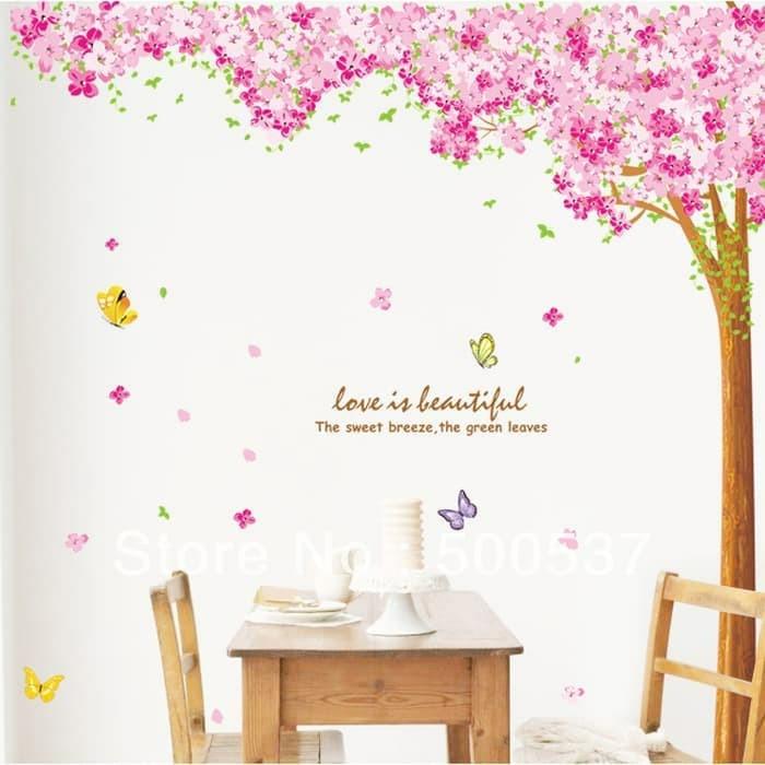 jual terbaru termurah wall sticker / stiker dinding kamar mandi big