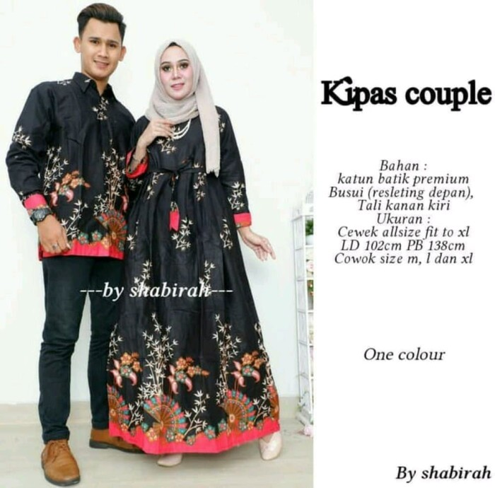 Jual Baju Batik Sarimbit Cowok Cewek Couple Pesta Batik Solo Murah f0106b3603